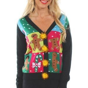 Tipsy Elves gingerbread sweater